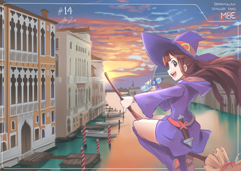D14. Akko by mysticswordsman21