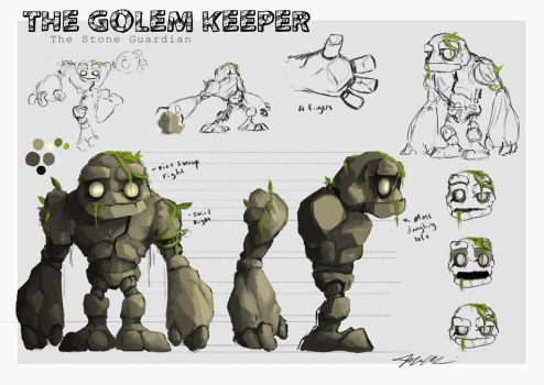 The Golem Keeper by Domiticus