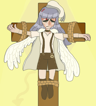 [Belated] Day 11: Crucified by timbernya