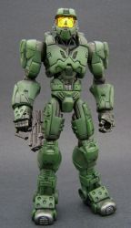 Master Chief 1 by Jin-Saotome