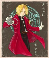 Ed Elric by Noxiihunter