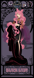 Black Lady Nouveau by kishokahime