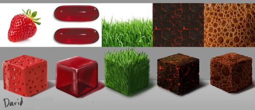 Surface texture practise by duh-veed