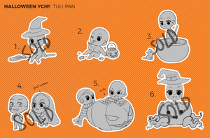 Halloween themed ''YCH'' with Pan (CLOSED) by Tuliblu