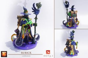 DOTA 2 - Rubick Figure _ Sculpt This Again by LuisMonterieArt