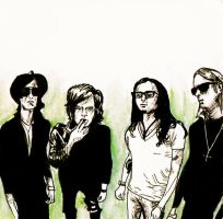 Kings of Leon by Miffeh