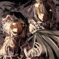 Remilia and Sakuya from Touhou by Marksfps