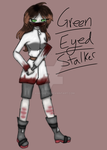 AT: Green eyed stalker by Ask-Earth