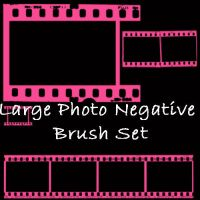 Photo Negative Brush Set by eMelody