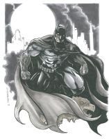 Batman by DKHindelang