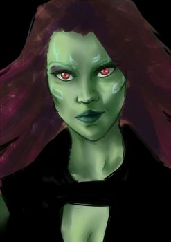 Guardians Of The Galaxy - Gamora by hirada-meirin
