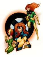 The Faces of Jean Grey by new-moon-night