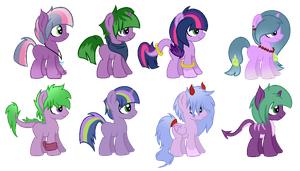 CMSF - Spike x Twilight Sparkle [CLOSED] by Pikadopts