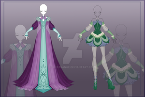 [Close]  Adoptable Outfit Auction 10-11 by LifStrange