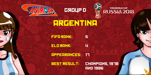 Argentina - Animondos World Cup Russia 2018 by Dougieus