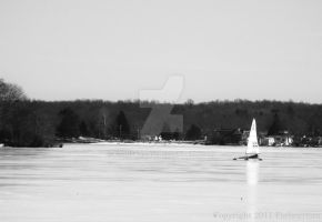 Ice Boating by Forbearnan