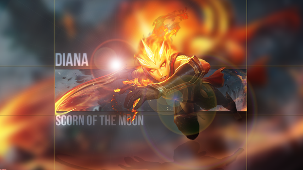 Infernal Diana by DimisionART