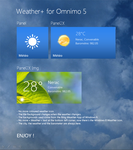 Weather+ for Omnimo 5 by wifun2012