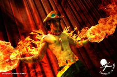 ACE One Piece Cosplay 2nd Remake - 12 by vega147