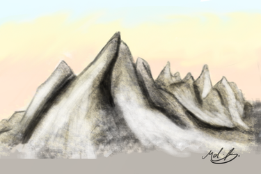 Mountains Practice by valued-vestige