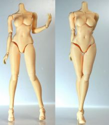 3D printing ABS 1/6 Scale Female Body by YUSINsCOLOR