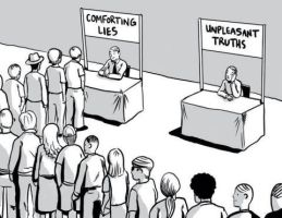 Unpleasent Truths or Comforting lies by Novuso
