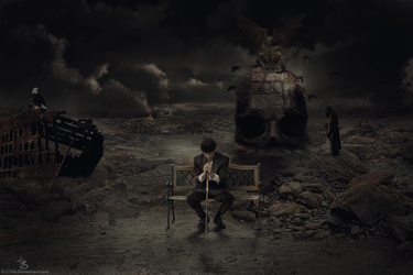 Thinking alone by D27Gfx