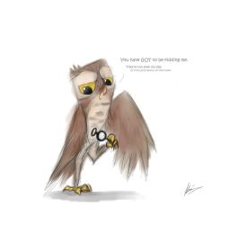Owl-Sighted by ninjagriff