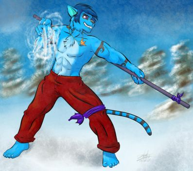 Xin Master of Ice by lomstat