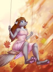 Swing to the sky by Imanika