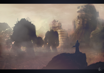 Attack On Hyperion v2 by MarkGraphics