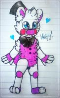 . : Helpy : .  by Kidademon