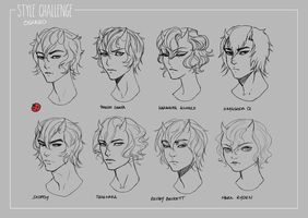 Style Challenge by oshRED