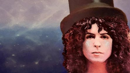 Marc Bolan - Electric Elf by ravenval