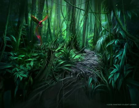 Jungle Path by Nele-Diel