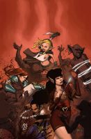 Rat Queens #3 by johnnyrocwell