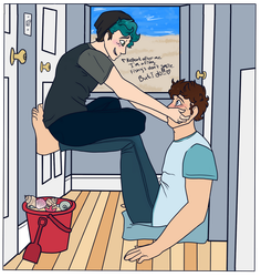 Ethan's Smile Method (Ocean Au) by mysterypaws