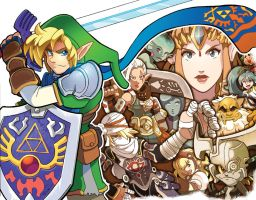 Hyrule Warriors by herms85