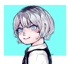 Kaneki's Daughter by fob-love-panic