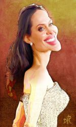 Angelina Jolie by wooden-horse