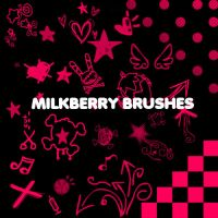Milkyberry Brushes by KrisPS