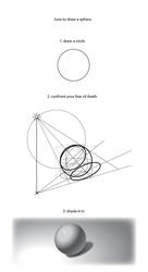 How to Draw a Realistic Sphere by BrookRiver