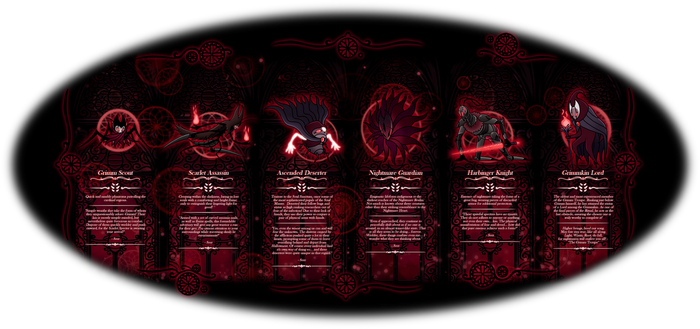 Hollow Knight: Nightmare Realm Enemies Part 2 by magicofgames
