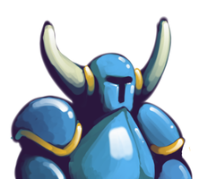 Shovel Knight by DoctorNuclear