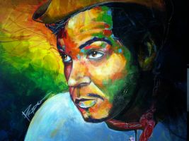 Cantinflas, Mexican actor. by HPRADO