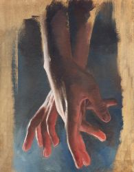 Hands Oil study by JeSSanchez