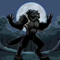 Griff Werewolf by Sketch-Beast