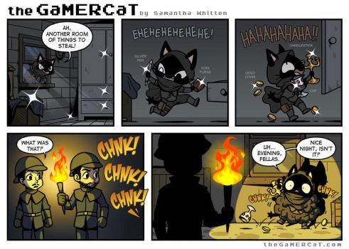 The GaMERCaT - Smooth Criminal by celesse