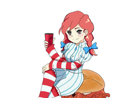 Commission Wendy's girl by BakaJager