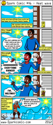 Spark Comic 46 - Heat wave by SuperSparkplug